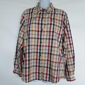 Alfred Dunner Button Down Top Size 14